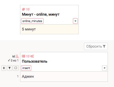 Пользователи online